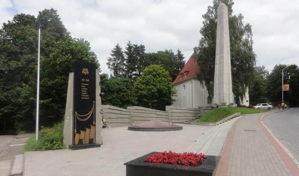 Воинский мемориал на братской могиле