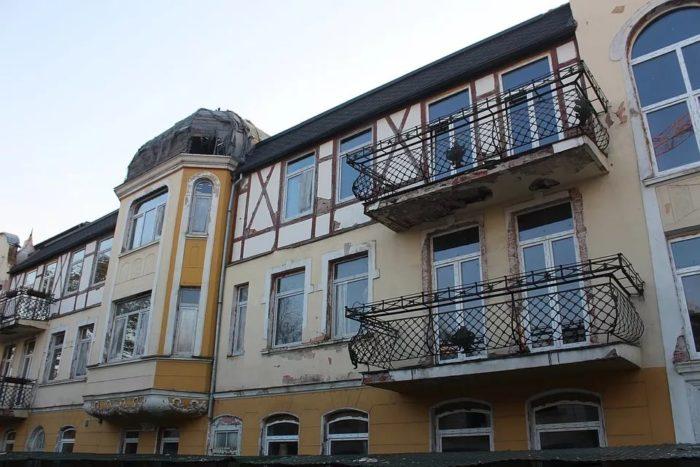 Отель «Восточная Пруссия», ныне поликлиника