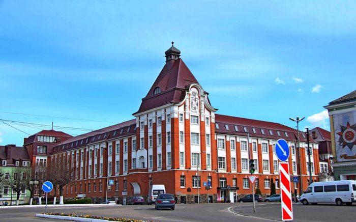 Здание компании «Аматэл» - бывшее правительство города Гумбиннена