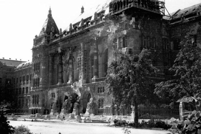 Будапешт после войны