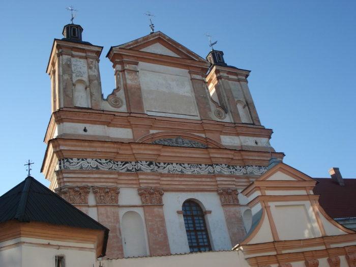 Костел и монастырь бригиток