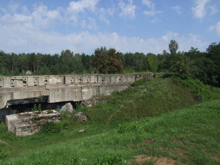 Остатки гродненской крепости