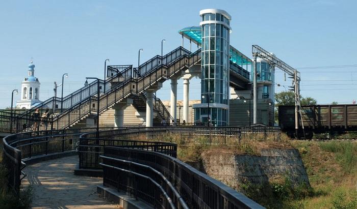 Мост над железной дорогой