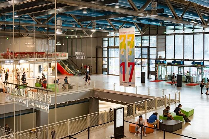 Музей современного искусства в Центре Помпиду