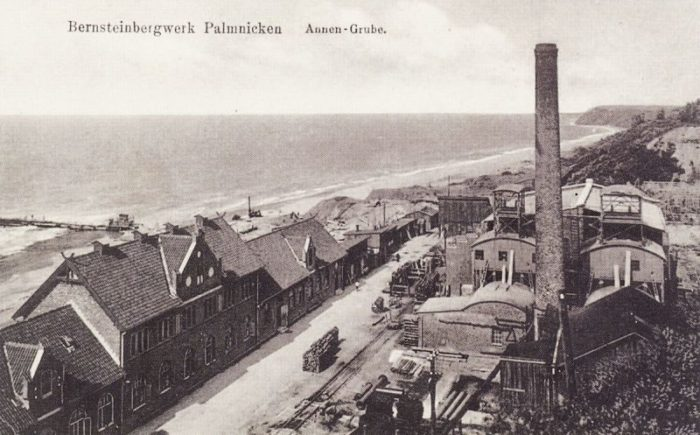 Об истории посёлка Янтарный