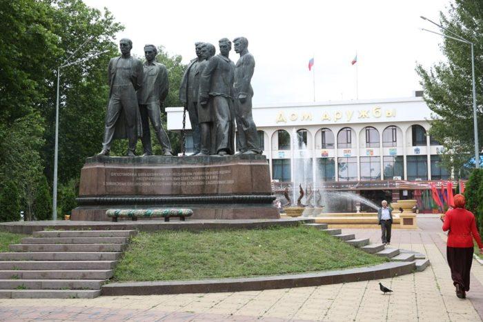 Памятник дагестанским большевикам