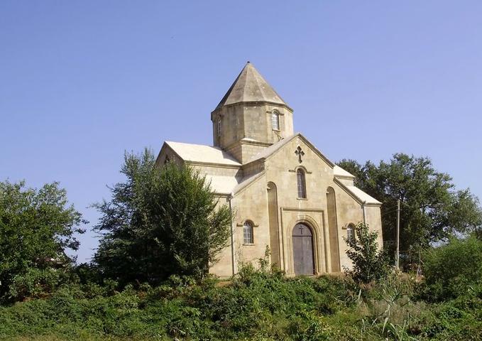 Армянская церковь в Нюгди