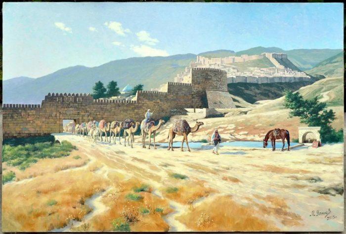 Об истории города Дербента