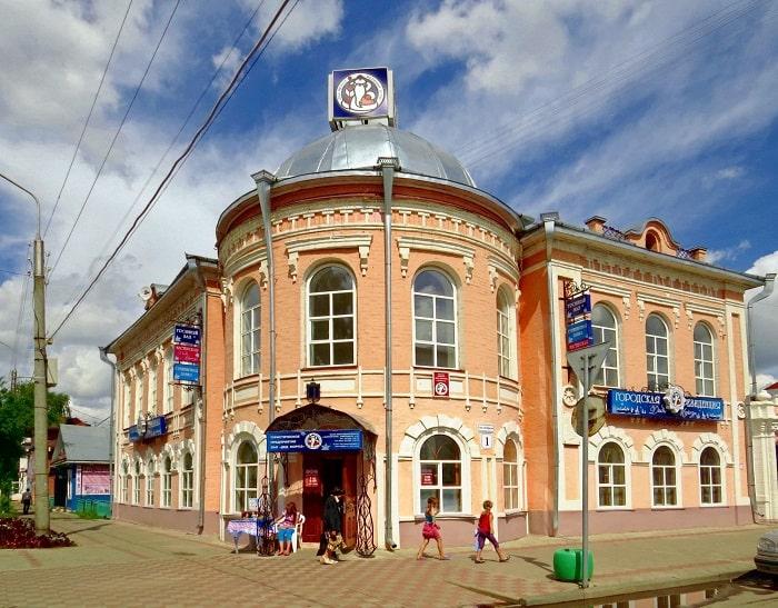Городская резиденция Деда Мороза