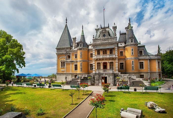 Массандровский дворец-музей Александра III