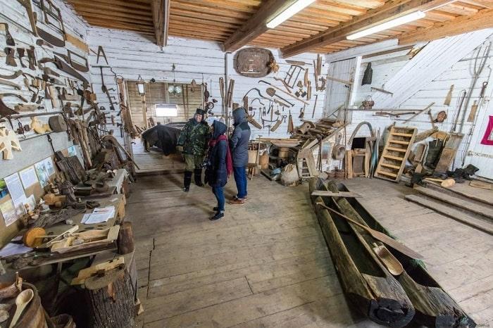 Музей традиционной лодки