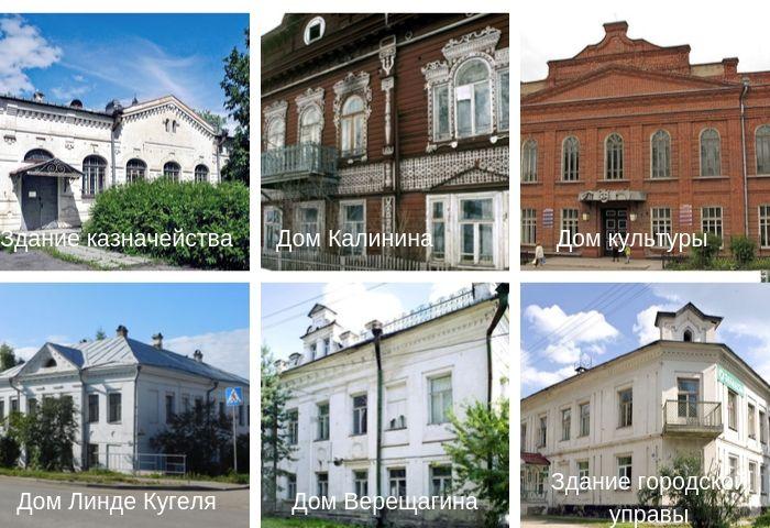 Старинные строения Белозерска