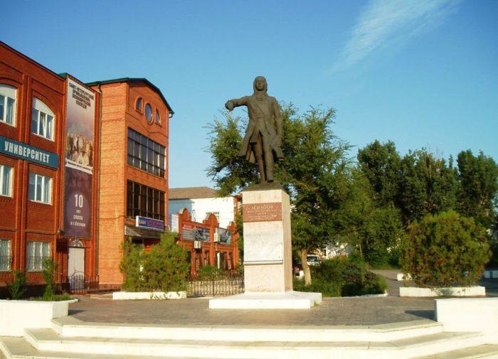 Памятник генералу Левашову