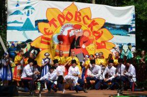 Петровская ярмарка в Кадниково