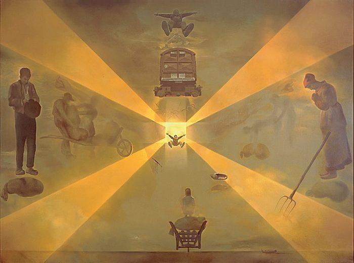 Картина Дали «Вокзал в Перпиньяне»