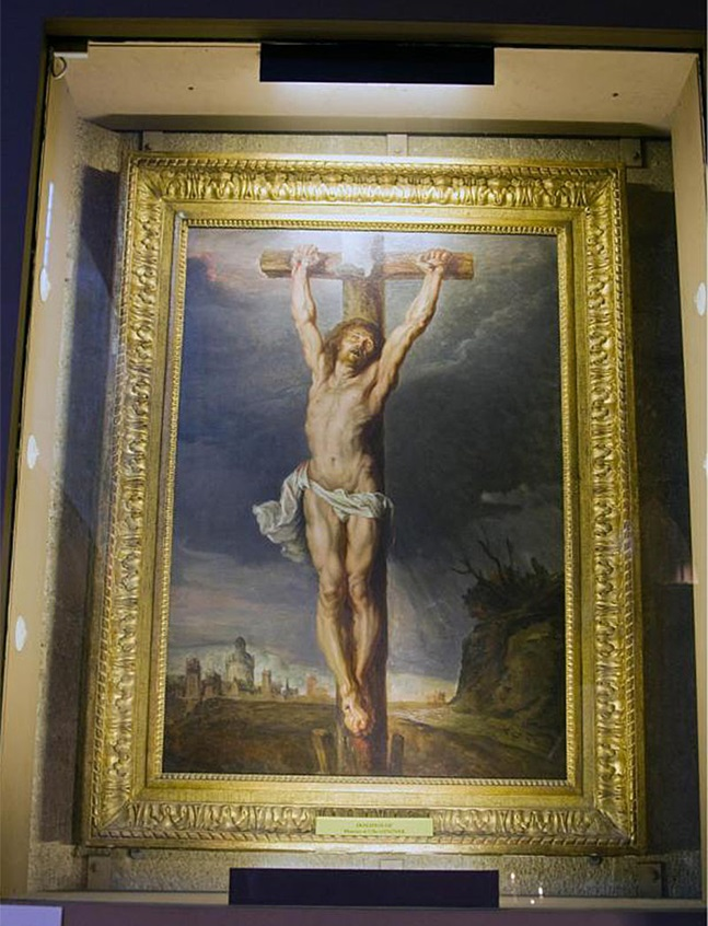 Картина Делакруа «Распятие»