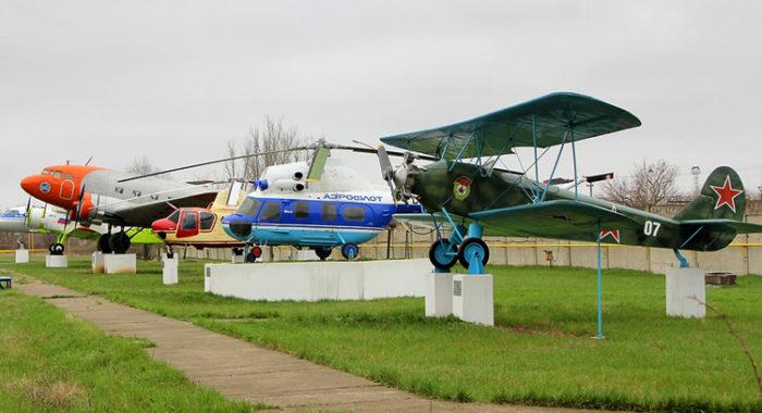 Музей авиационной техники на территории бывшего завода № 411 Гражданской авиации СССР