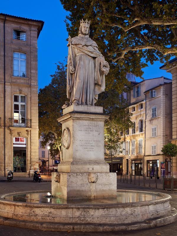Памятник Рене Доброму