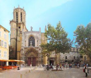 Кафедральный собор Святого Спасителя в Экс-ан-Прованс
