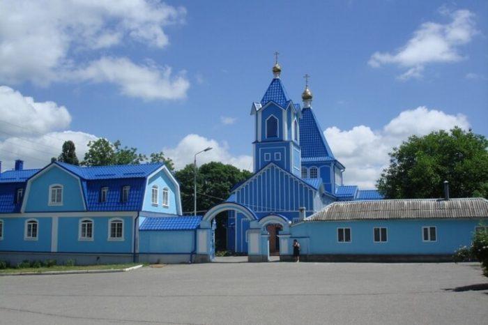 Свято-Никольская церковь, построенная казаками в 1826 году