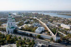 Городской округ, город Астрахань: достопримечательности