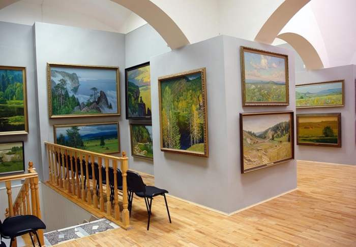 Картинная галерея Гречишкина