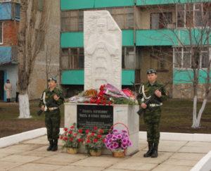 Памятник «Ликвидаторам техногенных катастроф»