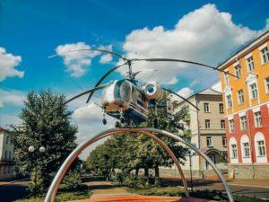 Памятник «Вертолёт Ка-26»