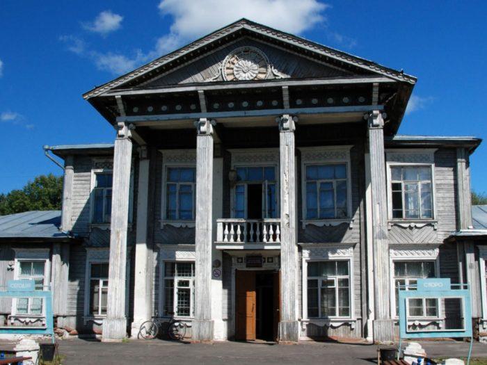 Фасад Дома культуры