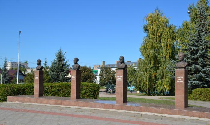Парк Победы и его мемориальный ансамбль