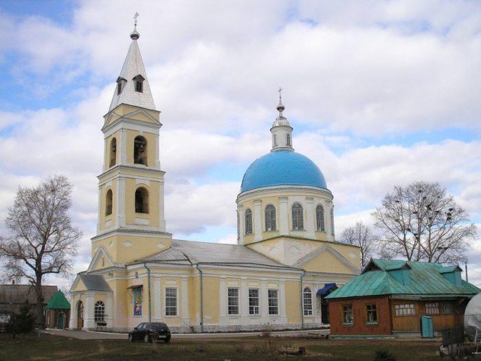 Православный храм Петра и Павла