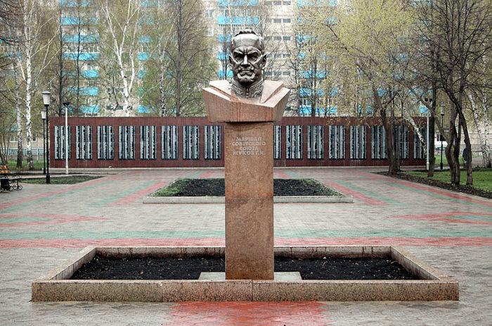 Сквер маршала Жукова