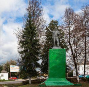 Памятник В.И. Ленину-01