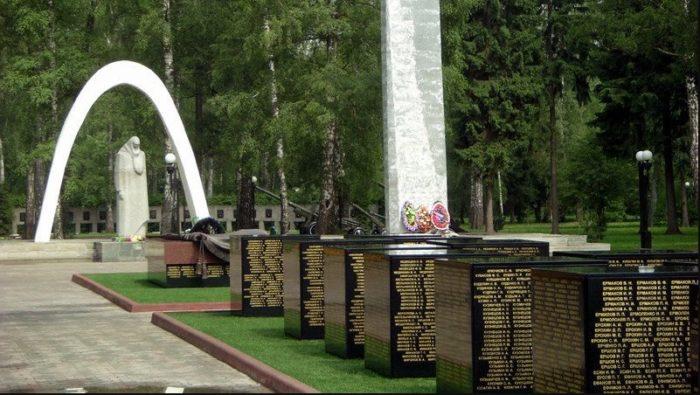 Мемориал павшим на фронтах Великой Отечественной