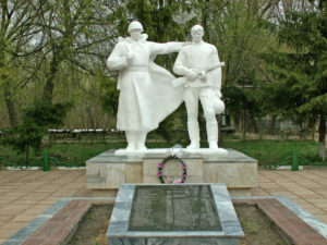 Памятник «Два воина»