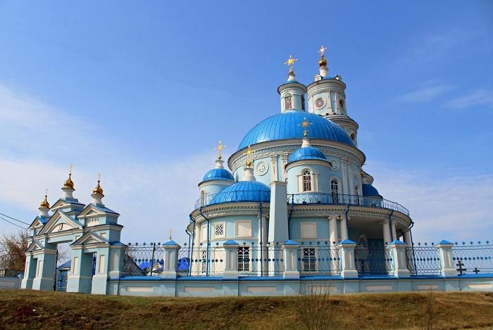 Казанская церковь в Тельме