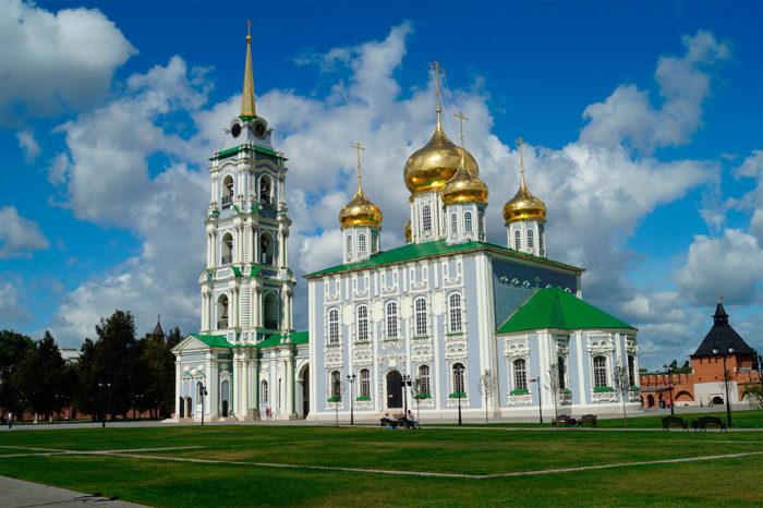 Исторический Успенский собор Тульского кремля