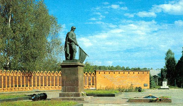 Мемориальный комплекс в честь воинов Великой Отечественной войны