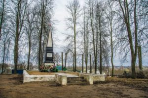 Памятник воинам Красной Армии, погибшим на гражданской войне