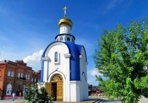 Часовня в честь Казанской иконы Божией Матери
