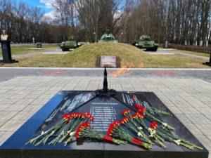 Мемориалы танкистов-первогвардейцев