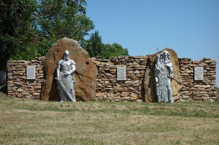 Памятник «Древний воин и святой Кукша»