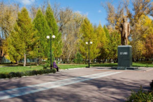 Памятник Ивану Тургеневу