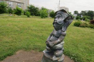 Скульптура «Большой Ух»