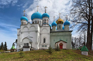 Авраамиев Покровский Городецкий монастырь на Чухломском озере