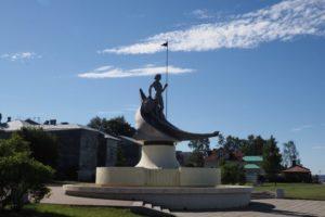 Памятник «Рождение Петрозаводска» («Онего»)