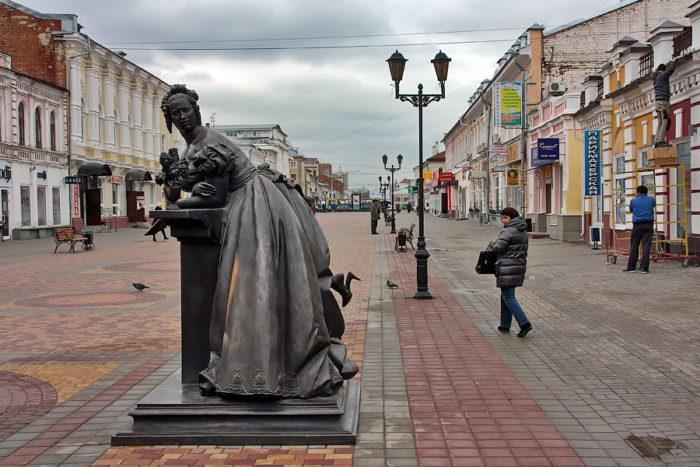 Памятник Тамбовская казначейша