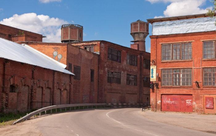 Суконная фабрика Лыжина