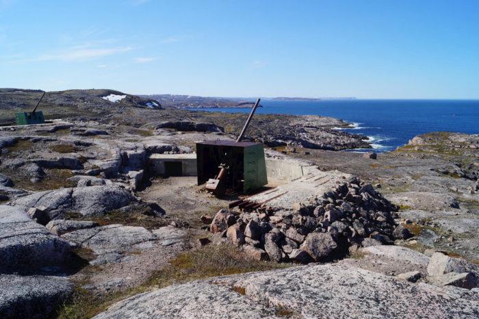 Артиллерийская батарея береговой обороны