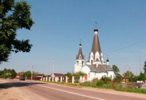Церковь Георгия Победоносца в Ново-Харитоново